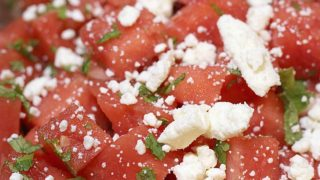 Watermelon Salad With Feta Recipe