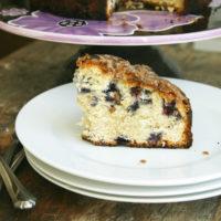 Blueberry Banana Coffee Cake