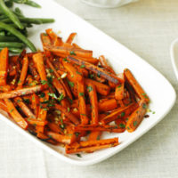 Garlic Parsley Carrots