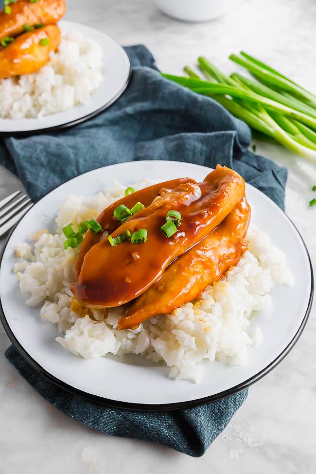 Easy 5-Ingredient Sweet Chicken {Gluten-free}