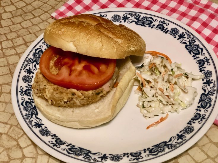 3 Ingredient Tuna Burgers