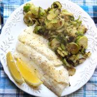 Parmesan Baked Haddock with Lemon and Garlic