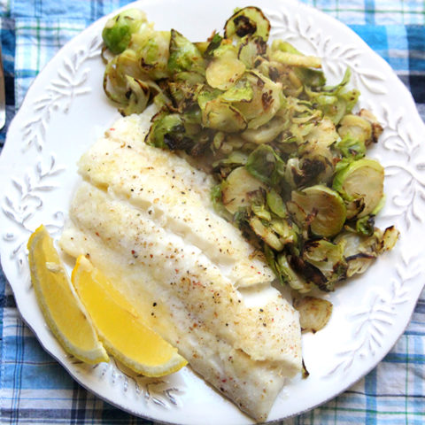 Parmesan Baked Haddock with Lemon and Garlic