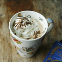 Two Ingredient Hot Chocolate