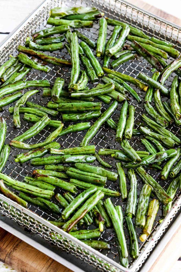 Easy Air Fryer Asian Green Beans