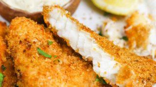 Crispy Air Fryer Fish Fillets