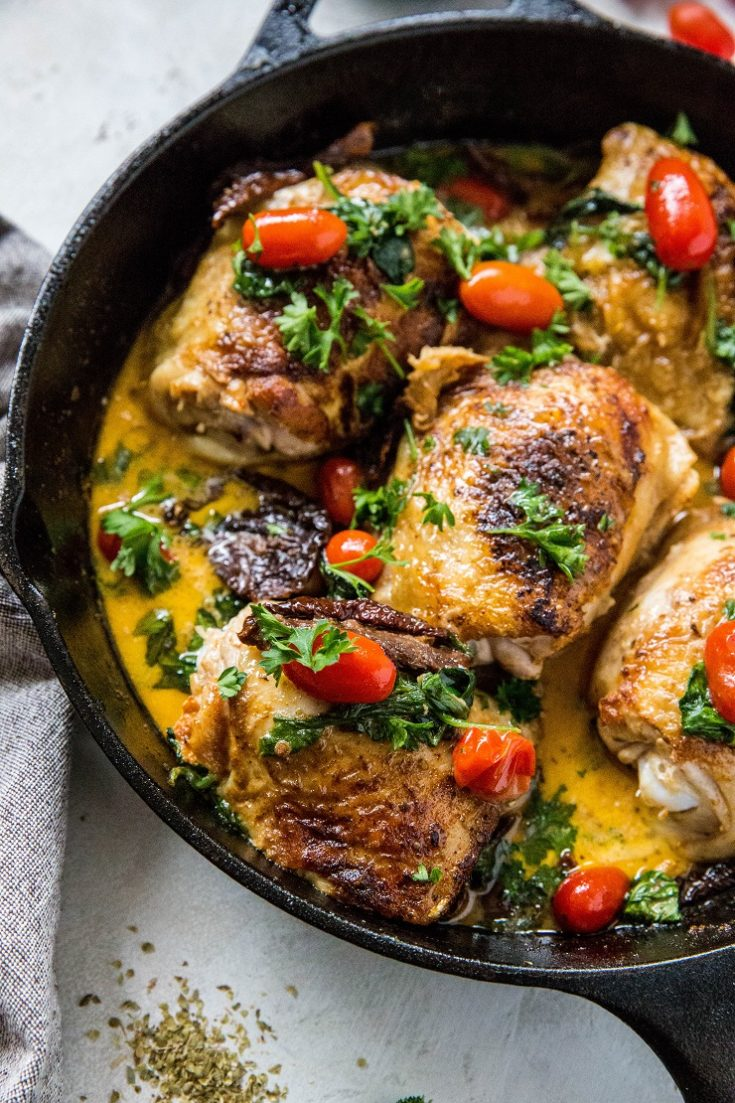 One-Pot Creamy Tuscan Chicken