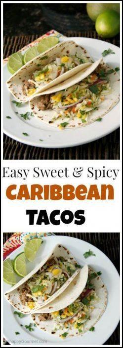Caribbean Tacos Recipe