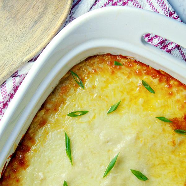 Mashed Cauliflower Shepherd's Pie Recipe