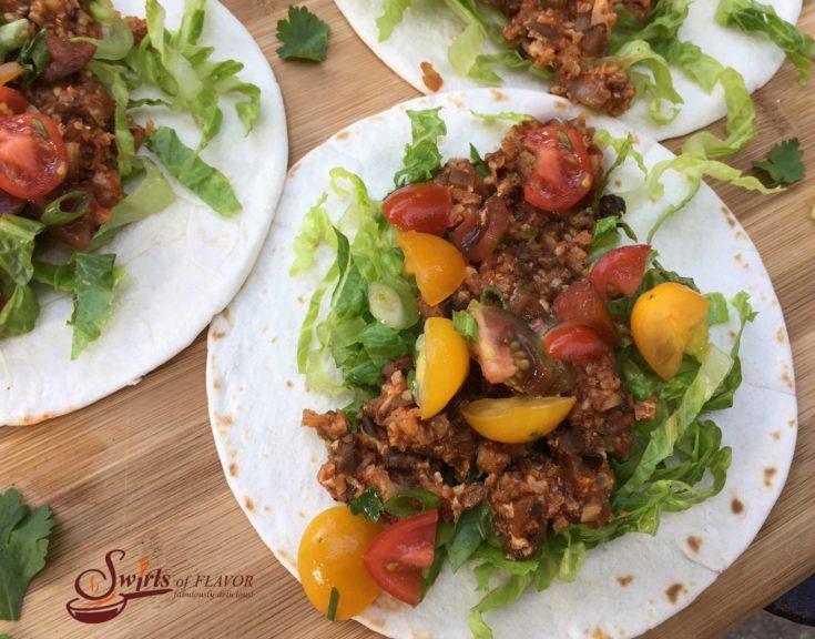 Oven Roasted Cauliflower Tacos