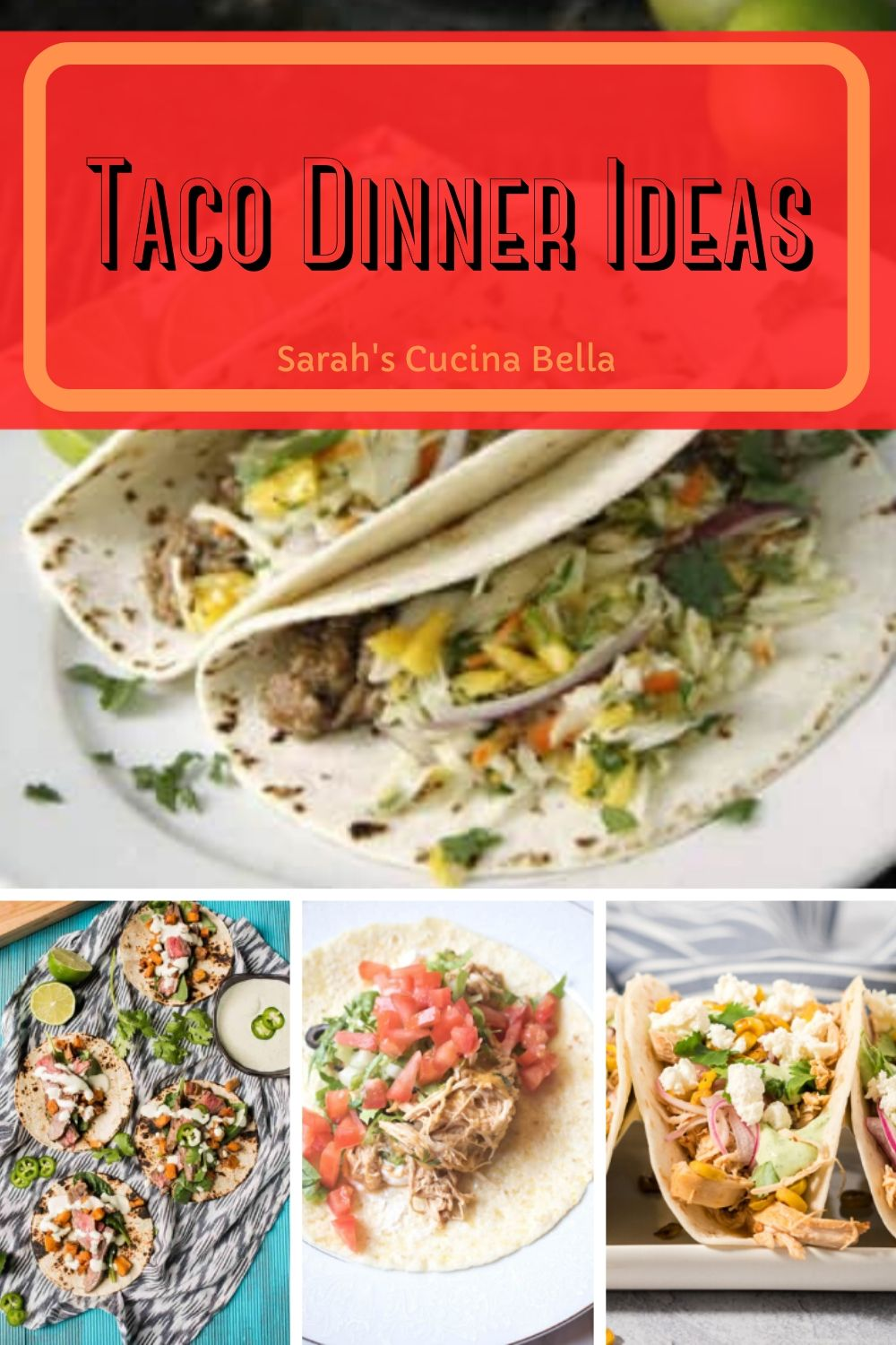 These 21 Taco Dinner Ideas will make your next taco dinner a delight.