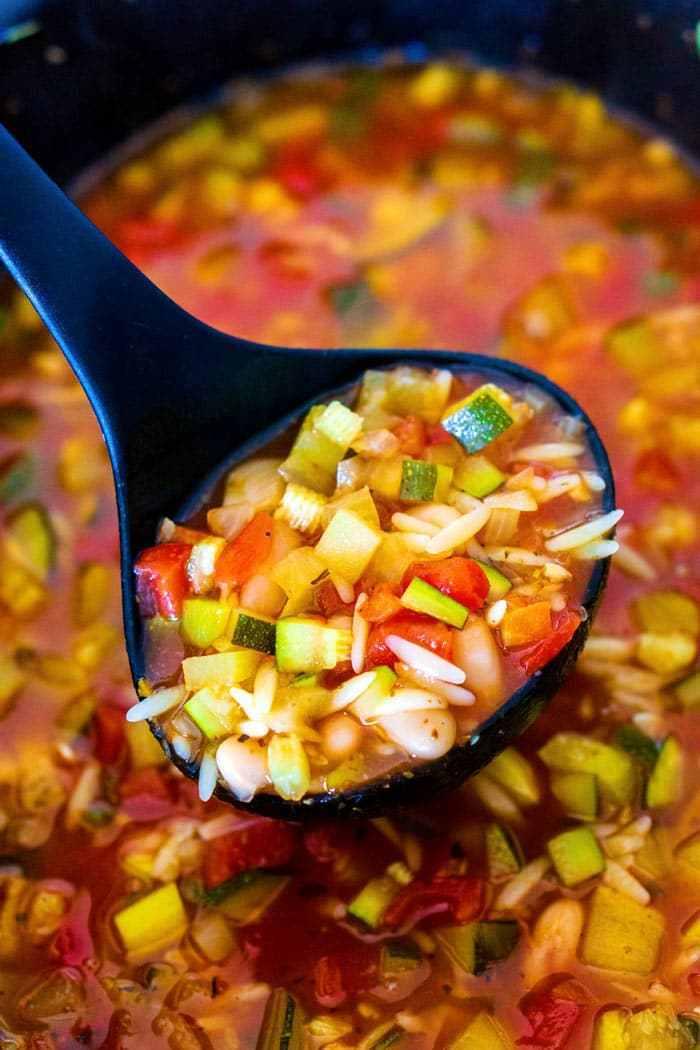 Slow Cooker Italian Harvest Soup