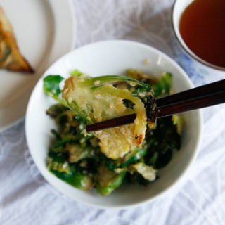 Brussels Sprouts Goma-ae
