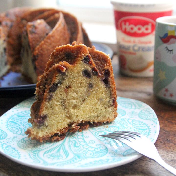 Wild Blueberry Pound Cake