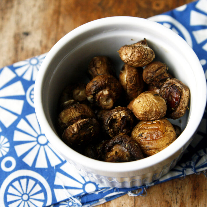 Herbed Roasted Mushrooms