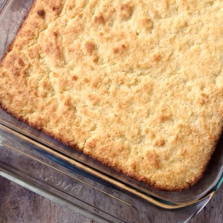 Buttery, Crumbly Cornbread