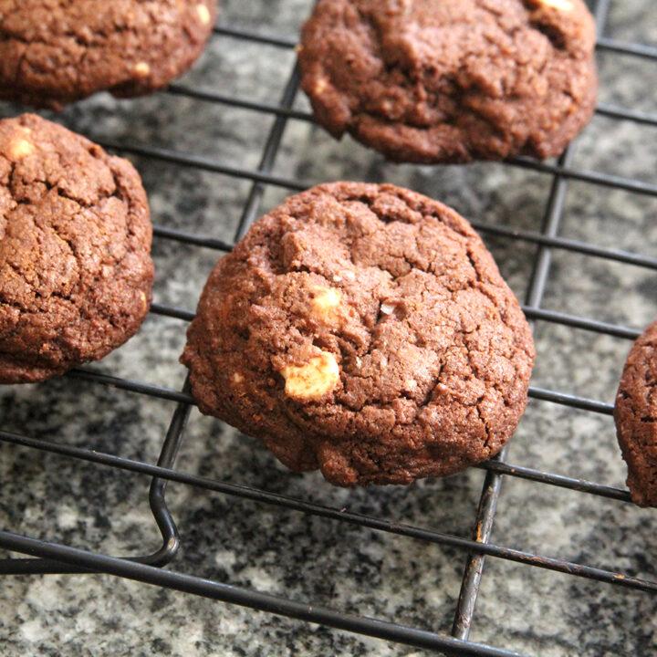 Triple Chocolate Chocolate Cookies