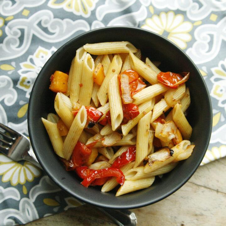 Roasted Vegetable Pasta Toss